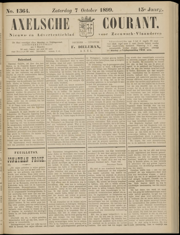 Axelsche Courant 1899-10-07