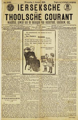 Ierseksche en Thoolsche Courant 1913