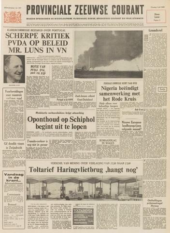 Provinciale Zeeuwse Courant 1969-07-01