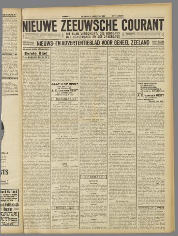 Nieuwe Zeeuwsche Courant 1933-08-05