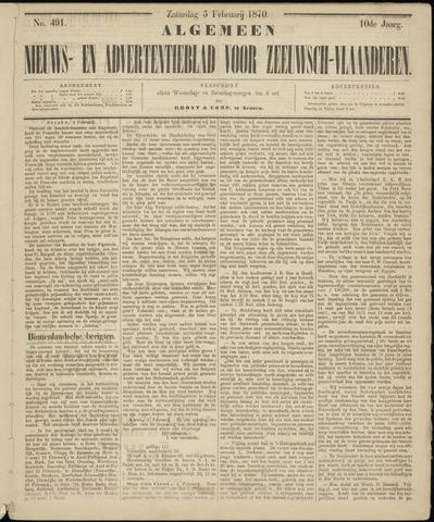 Ter Neuzensche Courant. Algemeen Nieuws- en Advertentieblad voor Zeeuwsch-Vlaanderen / Neuzensche Courant ... (idem) / (Algemeen) nieuws en advertentieblad voor Zeeuwsch-Vlaanderen 1870-02-05