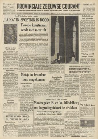 Provinciale Zeeuwse Courant 1957-11-11