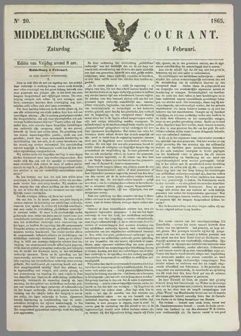 Middelburgsche Courant 1865-02-04