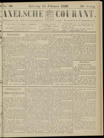 Axelsche Courant 1920-02-14