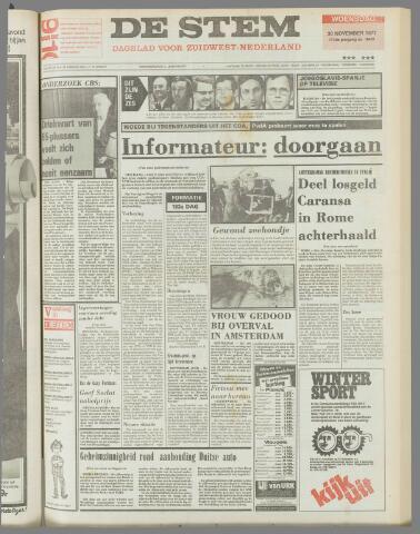 de Stem 1977-11-30