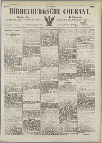 Middelburgsche Courant 1899-10-12