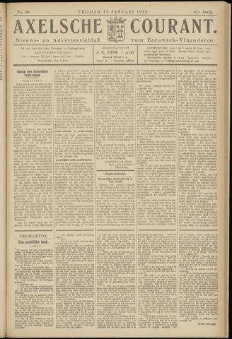 Axelsche Courant 1932-01-15
