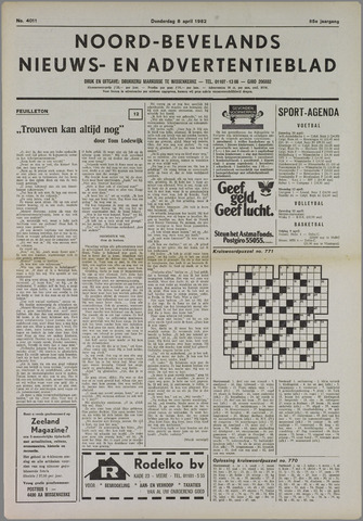 Noord-Bevelands Nieuws- en advertentieblad 1982-04-08