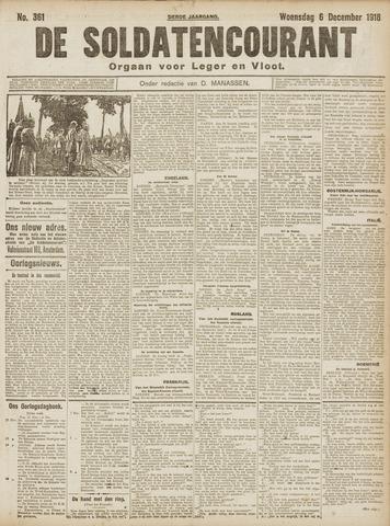 De Soldatencourant. Orgaan voor Leger en Vloot 1916-12-06