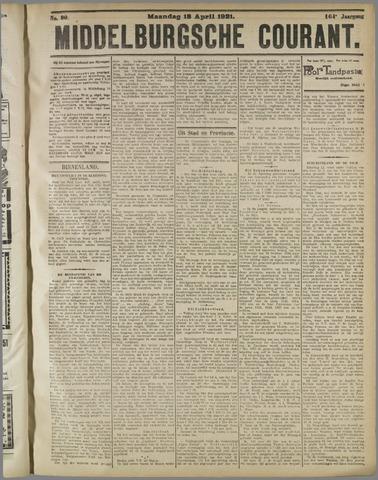 Middelburgsche Courant 1921-04-18