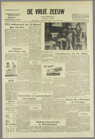 de Vrije Zeeuw 1963-02-05