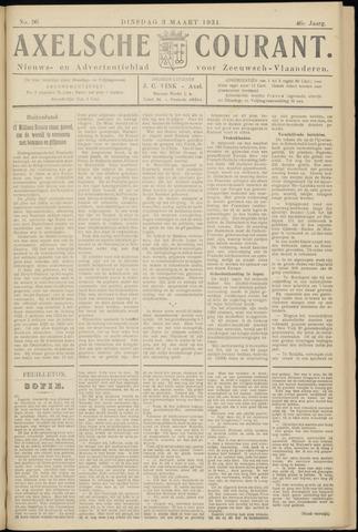 Axelsche Courant 1931-03-03