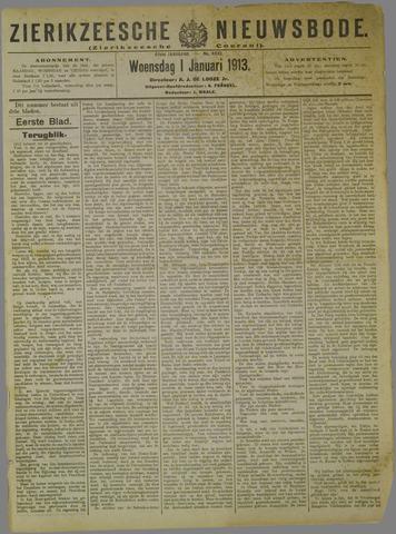 Zierikzeesche Nieuwsbode 1913-01-01