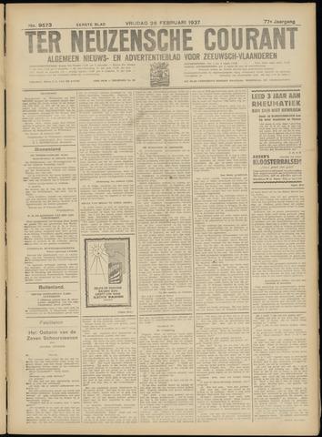 Ter Neuzensche Courant. Algemeen Nieuws- en Advertentieblad voor Zeeuwsch-Vlaanderen / Neuzensche Courant ... (idem) / (Algemeen) nieuws en advertentieblad voor Zeeuwsch-Vlaanderen 1937-02-26