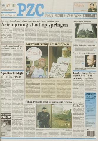 Provinciale Zeeuwse Courant 1999-01-21