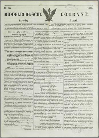 Middelburgsche Courant 1859-04-16