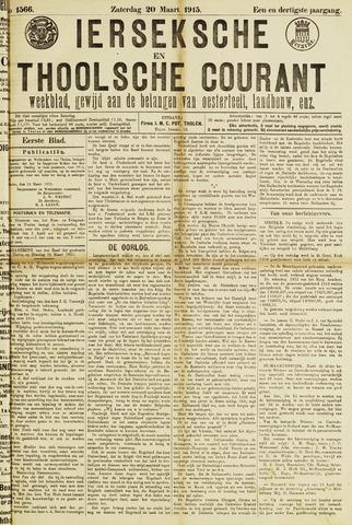 Ierseksche en Thoolsche Courant 1915-03-20