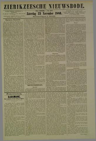 Zierikzeesche Nieuwsbode 1889-11-23