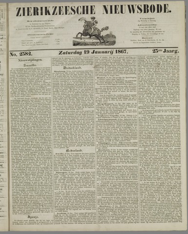Zierikzeesche Nieuwsbode 1867-01-19