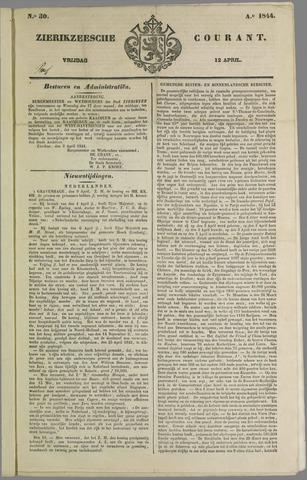 Zierikzeesche Courant 1844-04-12