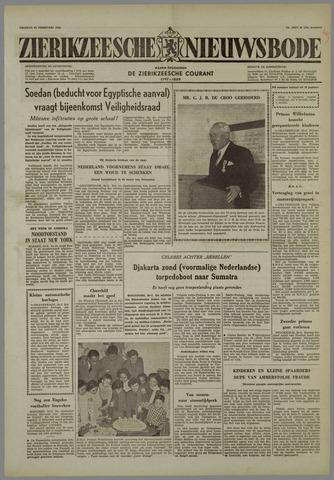 Zierikzeesche Nieuwsbode 1958-02-21