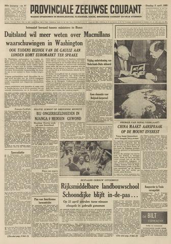 Provinciale Zeeuwse Courant 1960-04-05