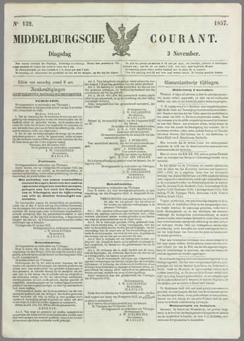 Middelburgsche Courant 1857-11-03
