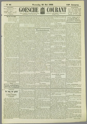 Goessche Courant 1932-05-25