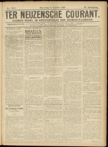 Ter Neuzensche Courant. Algemeen Nieuws- en Advertentieblad voor Zeeuwsch-Vlaanderen / Neuzensche Courant ... (idem) / (Algemeen) nieuws en advertentieblad voor Zeeuwsch-Vlaanderen 1926-10-11