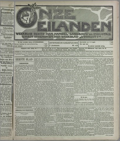 Onze Eilanden 1919-08-30