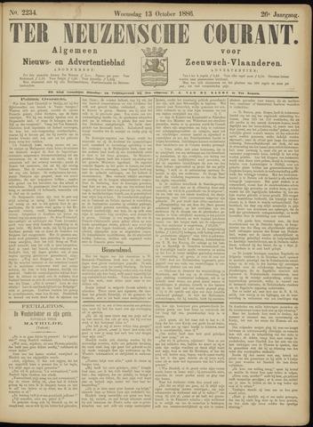 Ter Neuzensche Courant. Algemeen Nieuws- en Advertentieblad voor Zeeuwsch-Vlaanderen / Neuzensche Courant ... (idem) / (Algemeen) nieuws en advertentieblad voor Zeeuwsch-Vlaanderen 1886-10-13