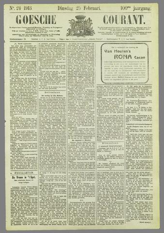 Goessche Courant 1913-02-25