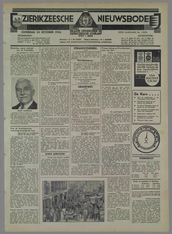 Zierikzeesche Nieuwsbode 1936-10-24