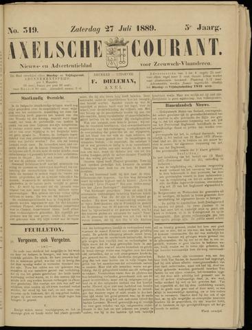 Axelsche Courant 1889-07-27