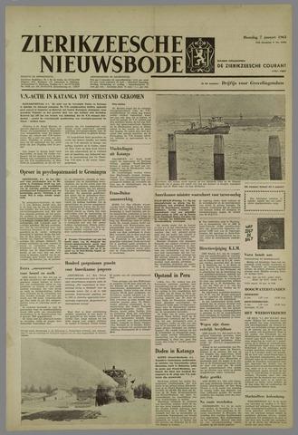 Zierikzeesche Nieuwsbode 1963-01-07