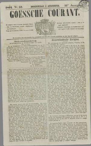 Goessche Courant 1864-08-04