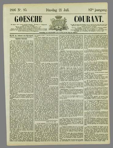 Goessche Courant 1896-07-21