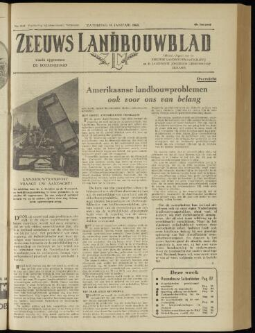 Zeeuwsch landbouwblad ... ZLM land- en tuinbouwblad 1960-01-30
