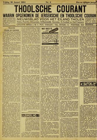 Ierseksche en Thoolsche Courant 1934-01-26
