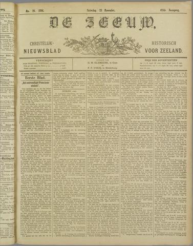 De Zeeuw. Christelijk-historisch nieuwsblad voor Zeeland 1896-11-28