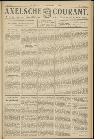 Axelsche Courant 1932-02-12