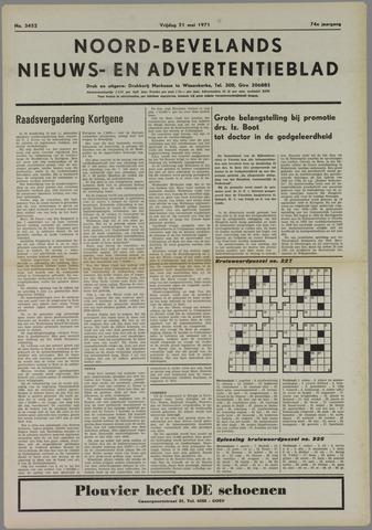 Noord-Bevelands Nieuws- en advertentieblad 1971-05-21