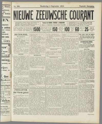 Nieuwe Zeeuwsche Courant 1913-09-04