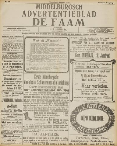 de Faam en de Faam/de Vlissinger 1912