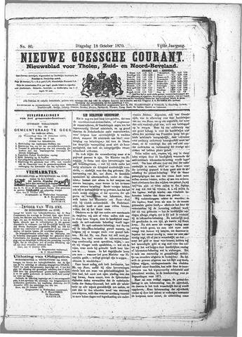 Nieuwe Goessche Courant 1870-10-18