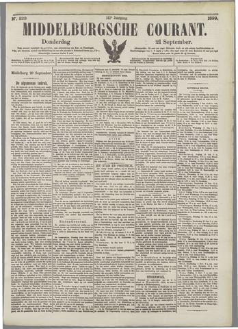 Middelburgsche Courant 1899-09-21