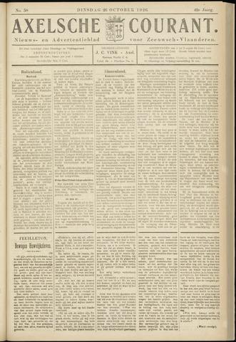 Axelsche Courant 1926-10-26