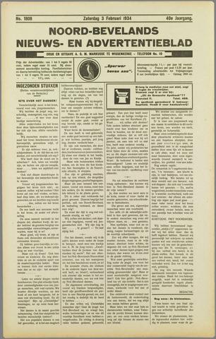 Noord-Bevelands Nieuws- en advertentieblad 1934-02-03
