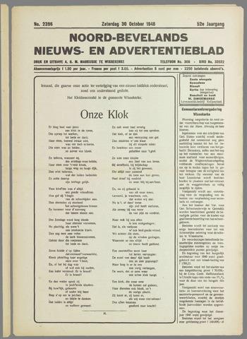 Noord-Bevelands Nieuws- en advertentieblad 1948-10-30