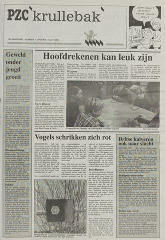 Provinciale Zeeuwse Courant katern Krullenbak (1981-1999) 1996-04-16